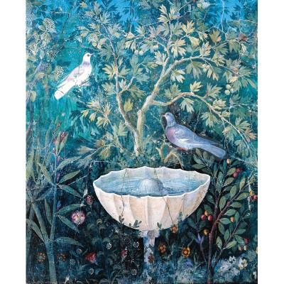 Puzzle-Michele-Wilson-A256-150 Puzzle aus handgefertigten Holzteilen - Vogel im Garten in Pompeï