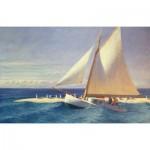Puzzle-Michele-Wilson-A278-350 Puzzle aus handgefertigten Holzteilen - Hopper: Das Segelboot