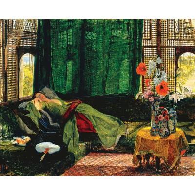 Puzzle-Michele-Wilson-A279-500 Puzzle aus handgefertigten Holzteilen - Lewis: Die Siesta