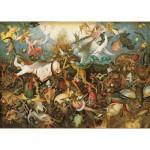 Puzzle-Michele-Wilson-A281-900 Puzzle aus handgefertigten Holzteilen - Brueghel: Der Sturz der rebellierenden Engel