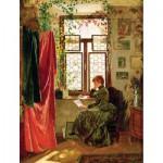 Puzzle-Michele-Wilson-A284-500 Puzzle aus handgefertigten Holzteilen - Kraemer: Geöffneter Brief