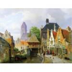 Puzzle-Michele-Wilson-A296-650 Puzzle aus handgefertigten Holzteilen - Koekkoek: Oudewater