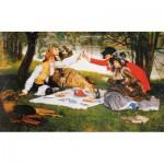 Puzzle-Michele-Wilson-A306-1200 Puzzle aus handgefertigten Holzteilen - James Tissot: Das Picknick