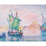Puzzle-Michele-Wilson-A314-80 Puzzle aus handgefertigten Holzteilen - Signac: Die rosa Wolke