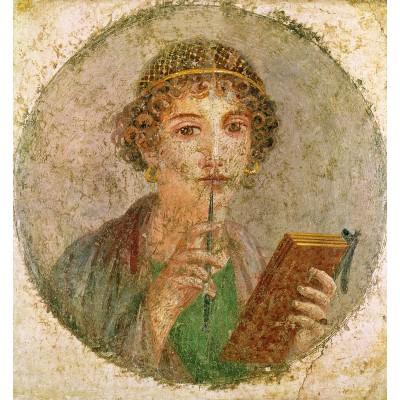 Puzzle-Michele-Wilson-A323-80 Puzzle aus handgefertigten Holzteilen - Etruskische Kunst: Portrait einer jungen Frau