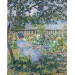 Puzzle-Michele-Wilson-A337-750 Puzzle aus handgefertigten Holzteilen - Monet: Terrasse in Vétheuil
