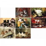 Puzzle-Michele-Wilson-A396-750 Puzzle aus handgefertigten Holzteilen - Ronner Knipp