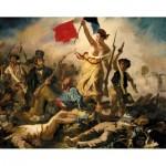 Puzzle-Michele-Wilson-A460-350 Puzzle aus handgefertigten Holzteilen - Eugène Delacroix : La Liberté Guidant le Peuple