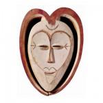 Puzzle-Michele-Wilson-A525-80 Puzzle aus Holz 1000 handgefertigte Teile - Michèle Wilson - Afrikanische Kunst, Kwele Maske