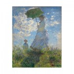 Puzzle-Michele-Wilson-A551-1000 Puzzle aus handgefertigten Holzteilen - Claude Monet : La Femme à l'Ombrelle, 1875