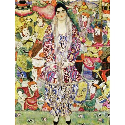 Puzzle-Michele-Wilson-A609-80 Puzzle aus handgefertigten Holzteilen - Gustav Klimt: Maria Beer
