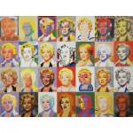 Puzzle-Michele-Wilson-A728-350 Puzzle aus handgefertigten Holzteilen - Paul Giovanopoulos: Marilyn Monroe