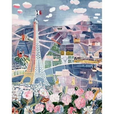 Puzzle-Michele-Wilson-A851-250 Puzzle aus handgefertigten Holzteilen - Raoul Dufy: Paris im Frühling
