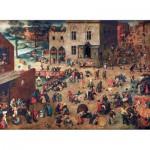 Puzzle-Michele-Wilson-A904-150 Puzzle aus handgefertigten Holzteilen - Brueghel: Die Kinderspiele