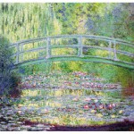 Puzzle-Michele-Wilson-A910-350 Puzzle aus handgefertigten Holzteilen - Monet: Die japanische Brücke