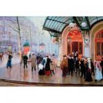 Puzzle-Michele-Wilson-A919-750 Puzzle aus handgefertigten Holzteilen - Béraud: Théâtre du Vaudeville
