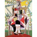 Puzzle-Michele-Wilson-A920-150 Puzzle aus handgefertigten Holzteilen - Picasso: Frau im Garten