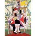 Puzzle-Michele-Wilson-A920-150 Puzzle aus handgefertigten Holzteilen - Picasso: Frau im Garten