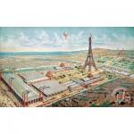 Puzzle-Michele-Wilson-A932-150 Puzzle aus handgefertigten Holzteilen - Blick auf die Weltausstellung