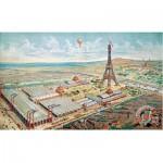 Puzzle-Michele-Wilson-A932-750 Puzzle aus handgefertigten Holzteilen - Paris 1889, Gravur