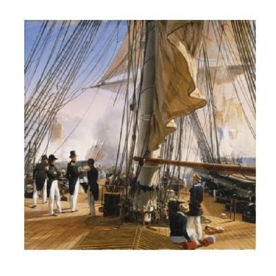 Puzzle-Michele-Wilson-A944-900 Puzzle aus handgefertigten Holzteilen - Vernet: Die französische Flotte