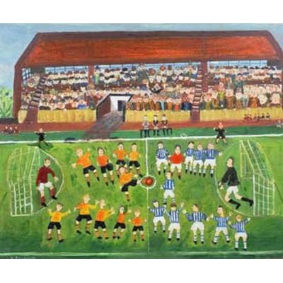 Puzzle-Michele-Wilson-A980-250 Puzzle aus handgefertigten Holzteilen - Starkins: Das Fussballspiel