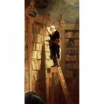 Puzzle-Michele-Wilson-A994-150 Puzzle aus handgefertigten Holzteilen - Carl Spitzweg: Der Bücherwurm