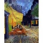 Puzzle-Michele-Wilson-C36-5000 Puzzle aus handgefertigten Holzteilen - Vincent van Gogh: Caféterrasse am Abend
