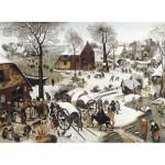 Puzzle-Michele-Wilson-C58-350 Puzzle aus handgefertigten Holzteilen - Brueghel: Volkszählung zu Bethlehem