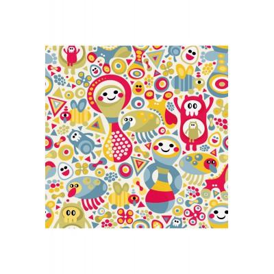 Puzzle Puzzle-Michele-Wilson-Cuzzle-Z03 Holzcuzzle - Kollektion Frühling: Konfetti