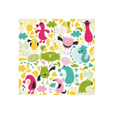 Puzzle Puzzle-Michele-Wilson-Cuzzle-Z04 Holzcuzzle - Kollektion Frühling: Monster