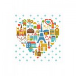 Puzzle-Michele-Wilson-Cuzzle-Z14 Holzpuzzle - Kollektion Paris: Im Herzen von Paris