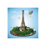 Puzzle-Michele-Wilson-Cuzzle-Z15 Holzpuzzle - Kollektion Paris: Paris