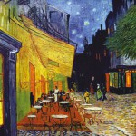 Puzzle-Michele-Wilson-Cuzzle-Z36 Puzzle aus handgefertigten Holzteilen - Vincent van Gogh: Caféterasse am Abend
