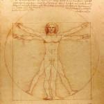 Puzzle-Michele-Wilson-Cuzzle-Z37 Puzzle aus handgefertigten Holzteilen - Leonardo da Vinci: Der vitruvianische Mensch