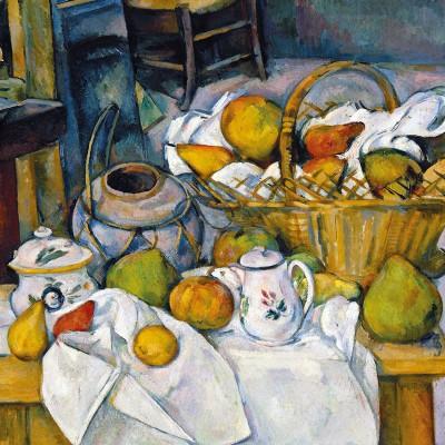 Puzzle-Michele-Wilson-Cuzzle-Z41 Puzzle aus handgefertigten Holzteilen - Paul Cézanne: Stillleben