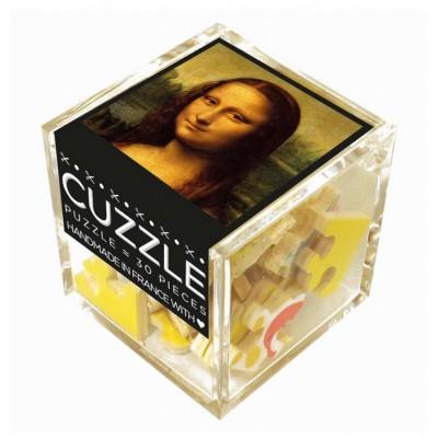 Puzzle-Michele-Wilson-Cuzzle-Z45 Holzpuzzle - Würfel - Leonardo da Vinci: Mona Lisa