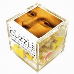 Puzzle-Michele-Wilson-Cuzzle-Z46 Holzpuzzle - Würfel - Leonardo da Vinci: Mysteriöse Mona Lisa