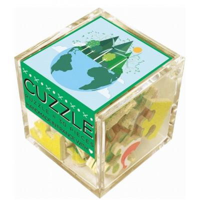 Puzzle-Michele-Wilson-Cuzzle-Z50 Holzpuzzle - Würfel - Grüne Energien