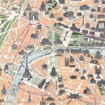 Puzzle-Michele-Wilson-Cuzzle-Z65 Puzzle aus handgefertigten Holzteilen - Stadtplan von Paris