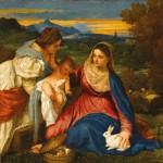 Puzzle-Michele-Wilson-Cuzzle-Z953 Puzzle aus handgefertigten Holzteilen - Madonna mit dem Kaninchen