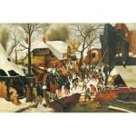 Puzzle-Michele-Wilson-H107-300 Puzzle aus handgefertigten Holzteilen - Brueghel: Die Anbetung der Könige