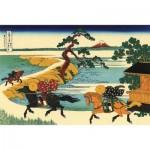 Puzzle-Michele-Wilson-H180-200 Holzpuzzle - Hiroshige Utagawa