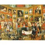 Puzzle-Michele-Wilson-H298-300 Puzzle aus handgefertigten Holzteilen - Johann Zoffany: Die Tribuna der Uffizien