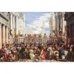 Puzzle-Michele-Wilson-H367-300 Puzzle aus handgefertigten Holzteilen - Paulo Veronese: Die Hochzeit zu Kana