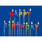 Puzzle-Michele-Wilson-M16-40 Puzzle aus handgefertigten Holzteilen - Happy Birthday