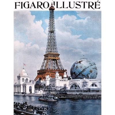 Puzzle-Michele-Wilson-M29-40 Puzzle aus handgefertigten Holzteilen - Le Figaro illustré: Weltausstellung