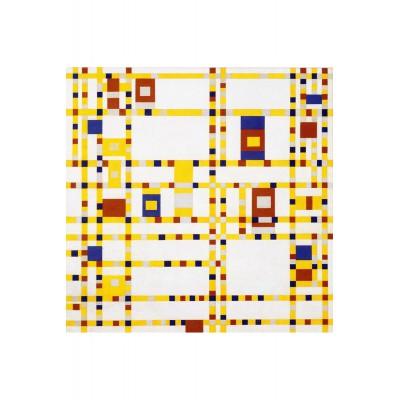 Puzzle-Michele-Wilson-M394-40 Puzzle aus handgefertigten Holzteilen - Mondrian: Broadway Boogie Woogie