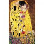 Puzzle-Michele-Wilson-P108-1000 Puzzle aus handgefertigten Holzteilen - Gustav Klimt: Der Kuss