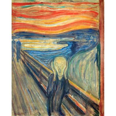 Puzzle-Michele-Wilson-W053-24 Puzzle aus handgefertigten Holzteilen - Edvard Munch: Der Schrei